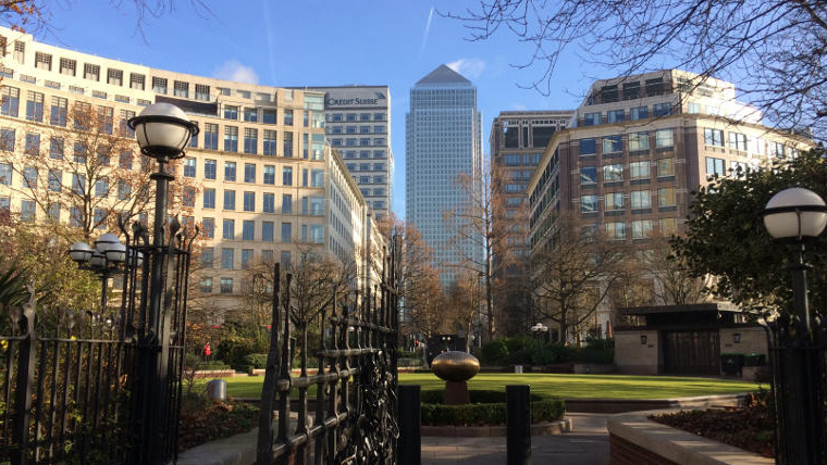 Welcome to our Canary Wharf Finance Tour!