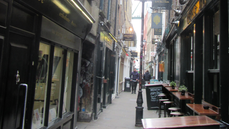Retail design in the East End connects deeply with its winding alleyways.