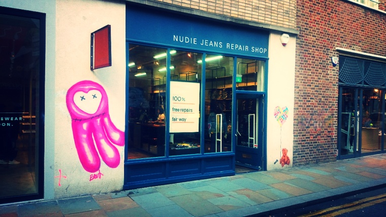 Street art and retail are inextricably intertwined in the East End!