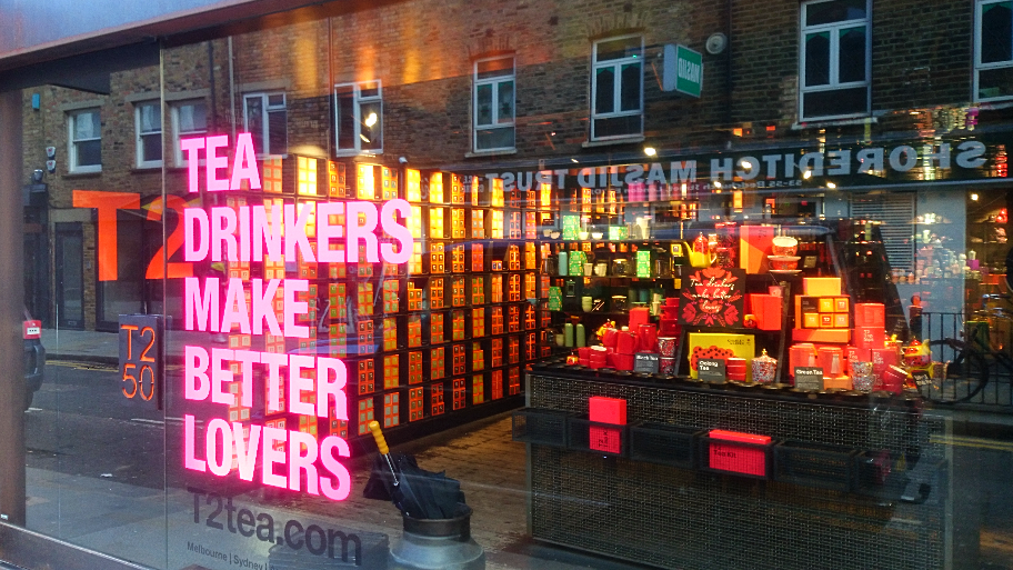 Creativity, colours and being different. That's what makes the East End's retail design so exciting!