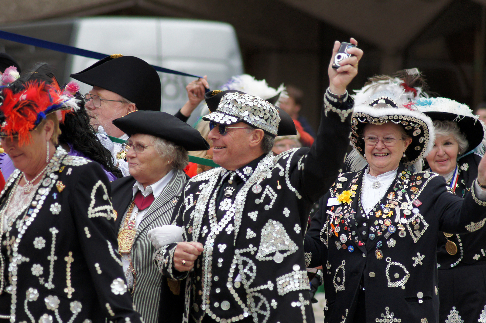 Image result for pearly kings and queens harvest festival