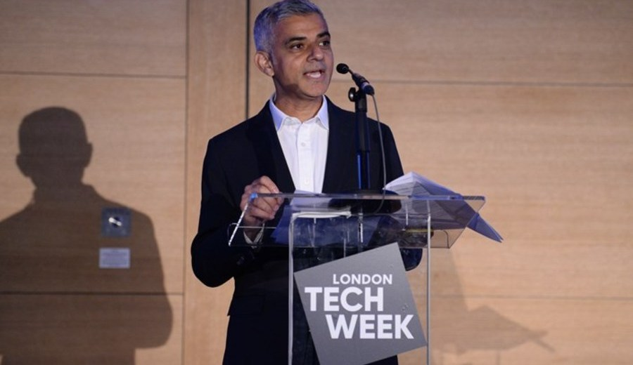 Sadiq Khan at London Tech Week