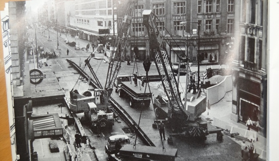 oxford circus construction