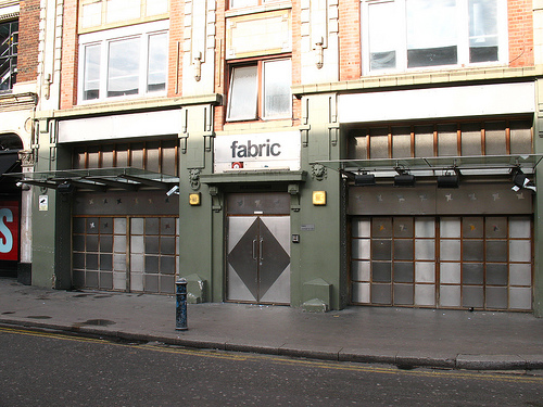 Fabric Club Farringdon London