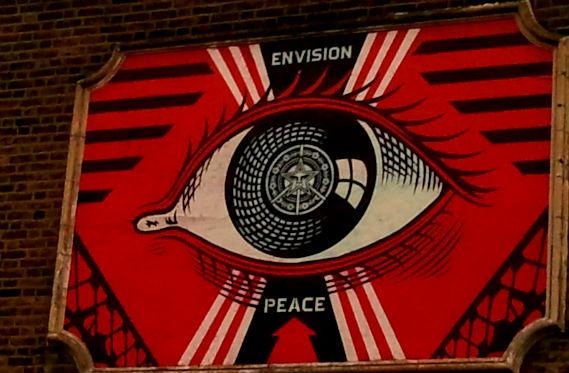 street art, walking tours, Banksy, Poundland, Shepard Fairey