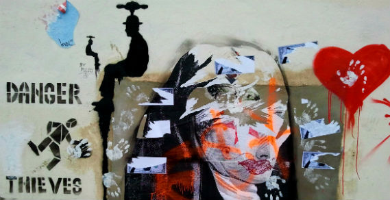 street art, Insider London, walking tours, Banksy, Poundland