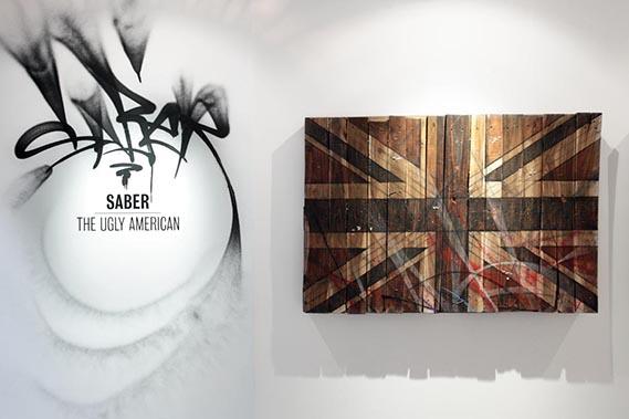 Saber Union Jack