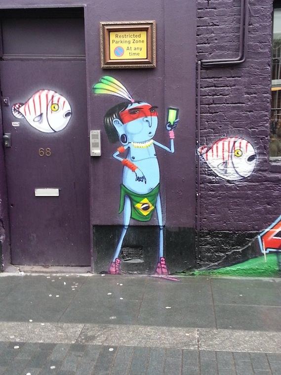 Cranio London street art