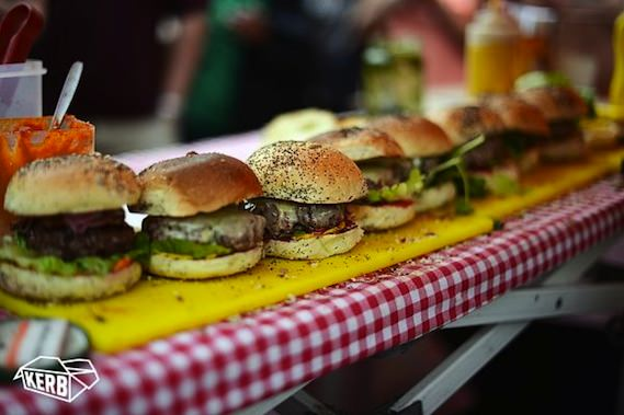 kerb street food alternative london