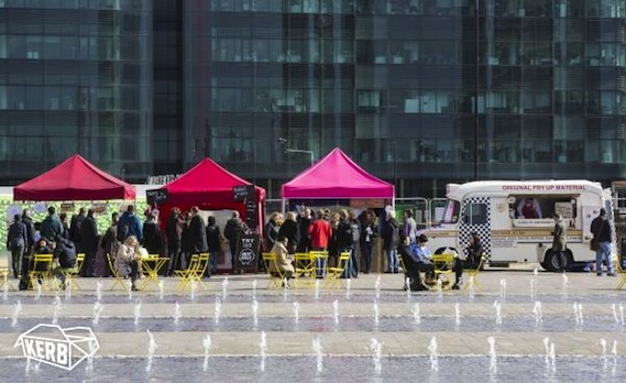 Kerb Kings cross regeneration street food