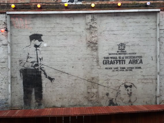 Banksy street art walking tour