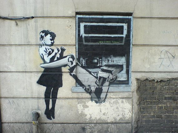 banksy London street art walking tour