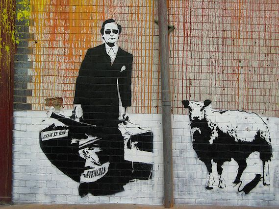 Blek le rat london street art walking tour