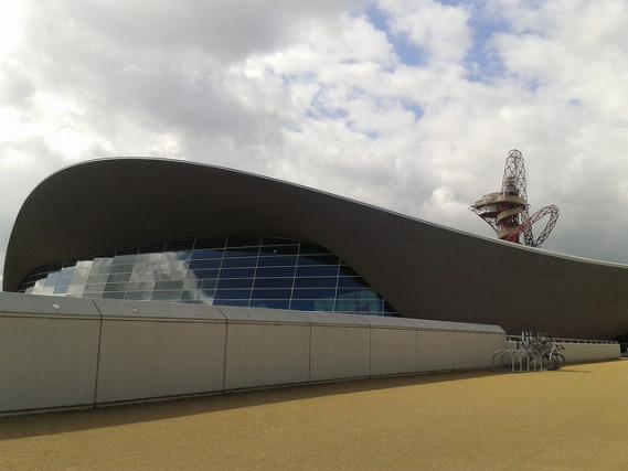 london sustainable architecture acquatics centre