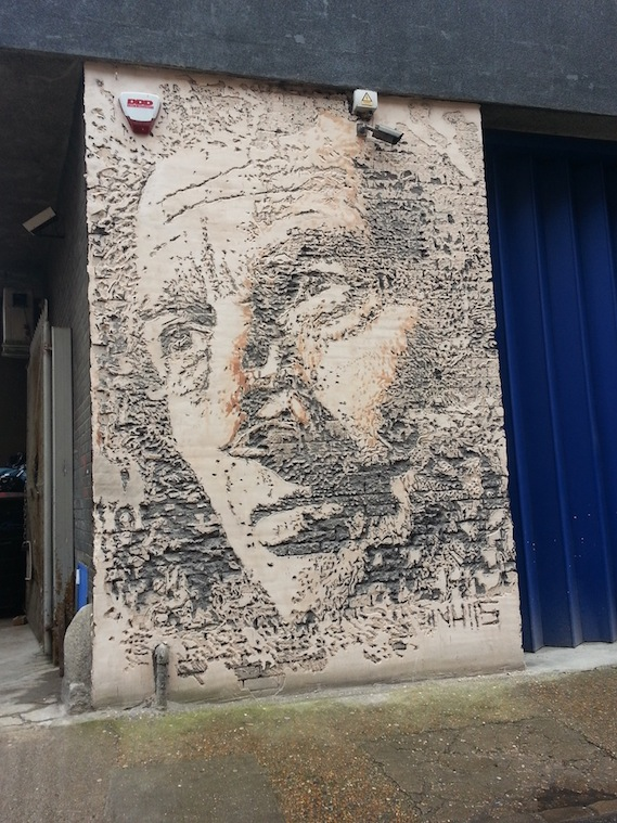 vhils street art tours London