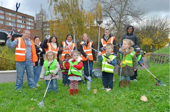 London volunteers
