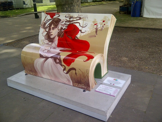 Railway children book street art tour