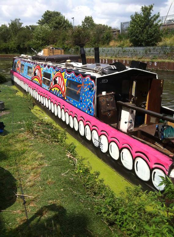 Sweet Toof London barge