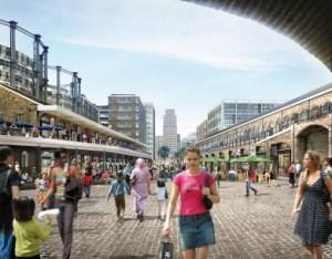 coal drops alternative walking tours london