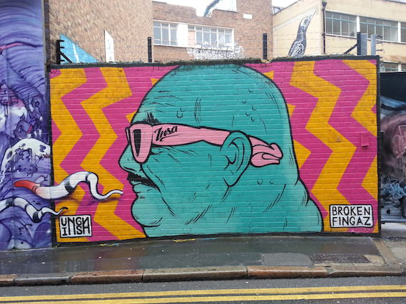 Street art London unga insa