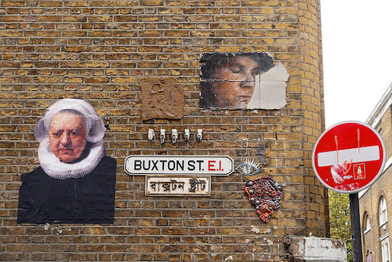 Buxton Street London street art walking tour
