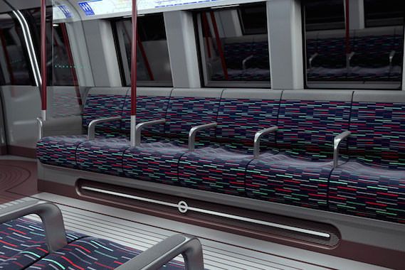 London Underground seating