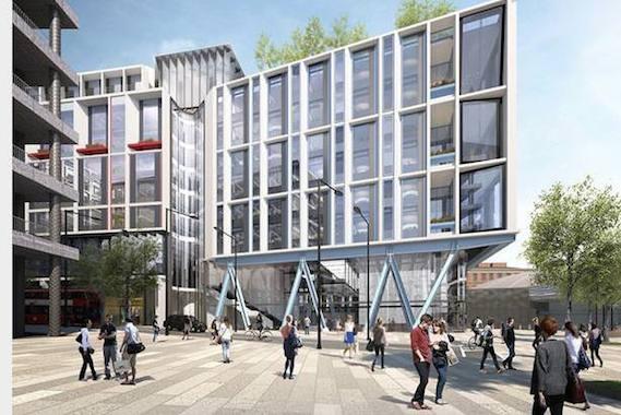 Google Campus Modern Architecture