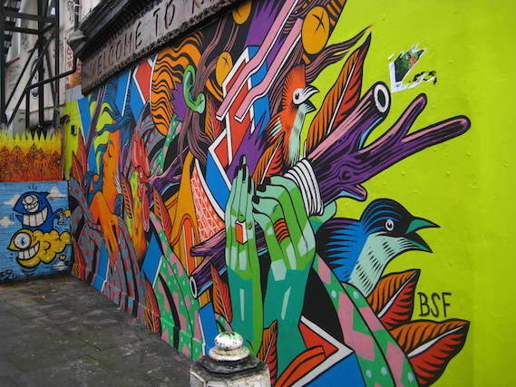 london street art and graffiti walking tours