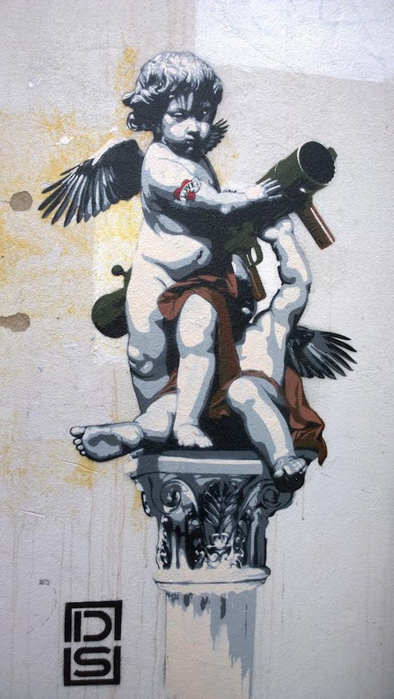 London street art and graffiti