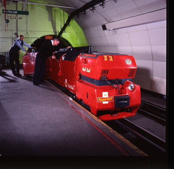 Mail Rail image C. Royal Mail