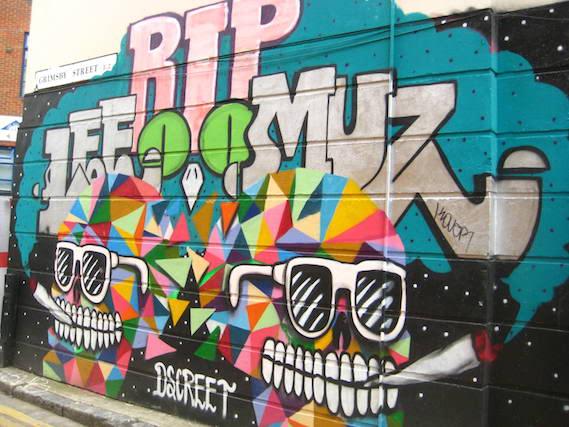 london street art alternative walking tour
