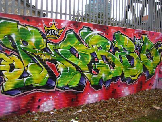 Robbo street art tribute London