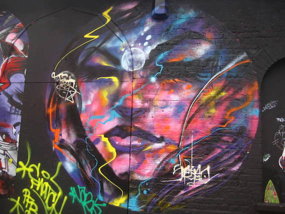 street art and graffiti walking tours London