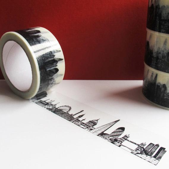 London skyline decorative tape
