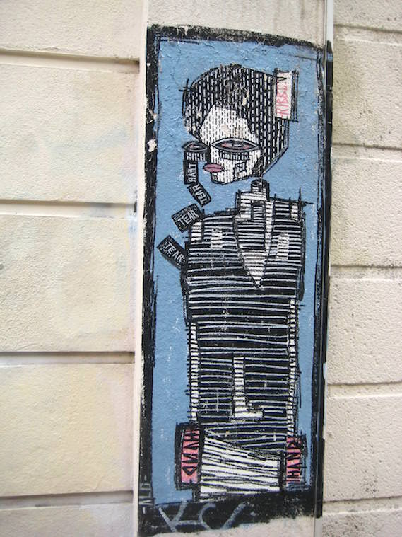 ALO London street art and graffiti