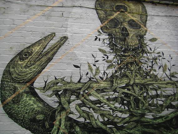 alex diaz London street art and graffiti walking tours