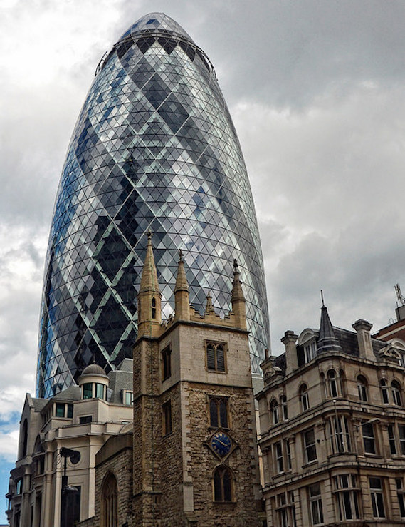 The Gherkin Up Close Ten Great Facts Insider London - London-gherkin-an-unusual-eggshaped-building