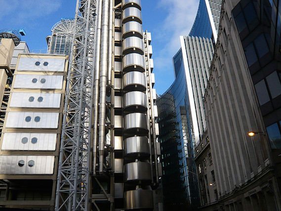 Alternative London architecture Lloyds building