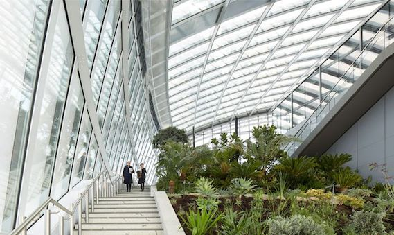 sky garden walkie talkie london