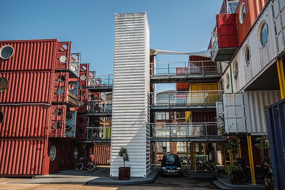 Container city Trinity Buoy Wharf London
