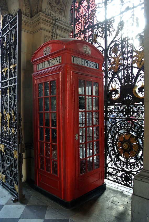 K2 London phone box