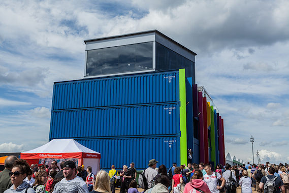London Olympics shipping container