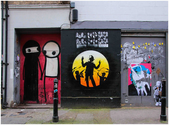 London street art and graffiti walking tours stik osch